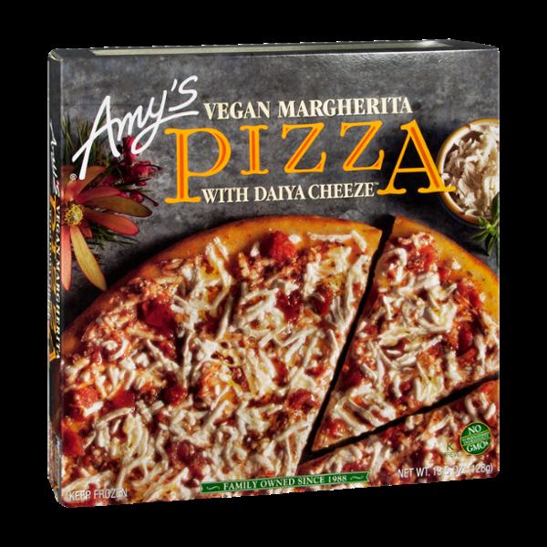 Amy's Kitchen Vegan Margherita With Daiya Cheese