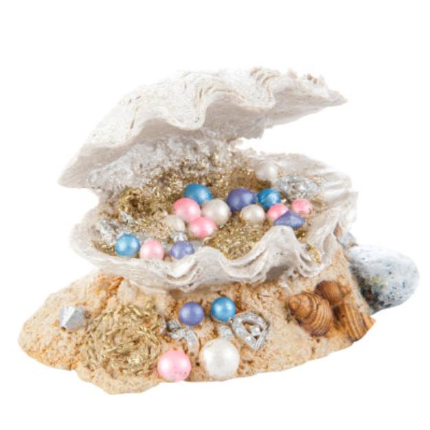 Top FinA Clamshell Treasure Aquarium Ornament