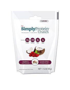 The Simply Bar Protein Crunch Raspberry & Coconut 1.16 oz