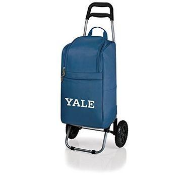 Picnic Time 545-00-138-054-1 Yale University Bulldogs Digital Print Cart Cooler in Navy