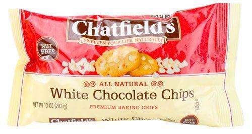 Chatfield's White Chocolate Chips 10 oz