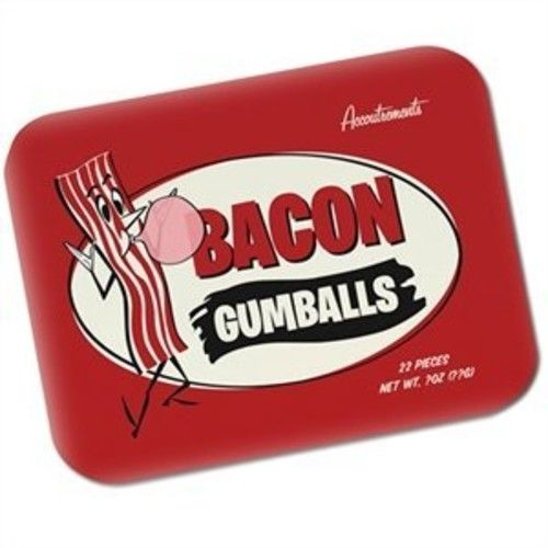 Accoutrements Bacon Gumballs 22 Pieces Novelty Product Gag Gifts Meat Breakfast