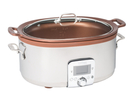 All Clad 7Qt. Gourmet Slow Cooker with In-Pot Browning function