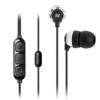 Scosche Industries Noise Isolation earbuds with tapLINE II control technology