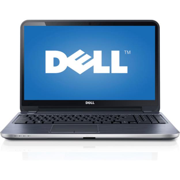 "Dell Silver 15.6"" Inspiron 15R Laptop PC with AMD A10-5745M Quad-Core Processor, 8GB Memory, 1TB Hard Drive and Windows 8.1"
