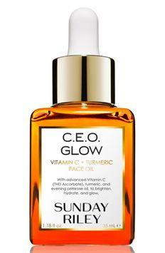 SUNDAY RILEY C.E.O. Glow Vitamin C Turmeric Face Oil 1.2 oz.