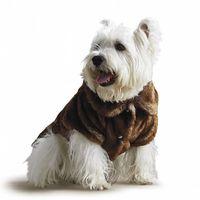 Frontgate Faux Fur Pet Jacket
