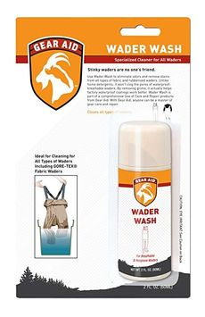 Gear Aid Wader Wash Specialized Cleaner For All Waders
