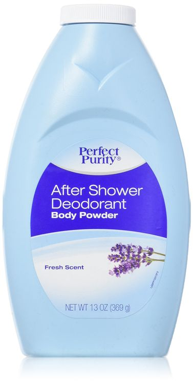 Perfect Purity® After Shower Deodorant Body Powder Fresh Scent