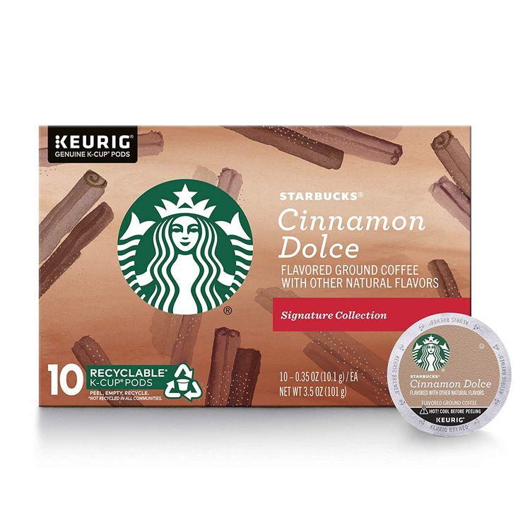 Starbucks K-Cup - Cinnamon Dolce Coffee