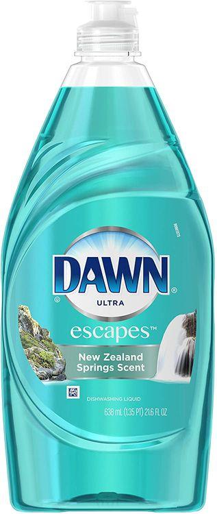 Dawn Ultra Dishwashing Liquid New Zealand Spring Scent