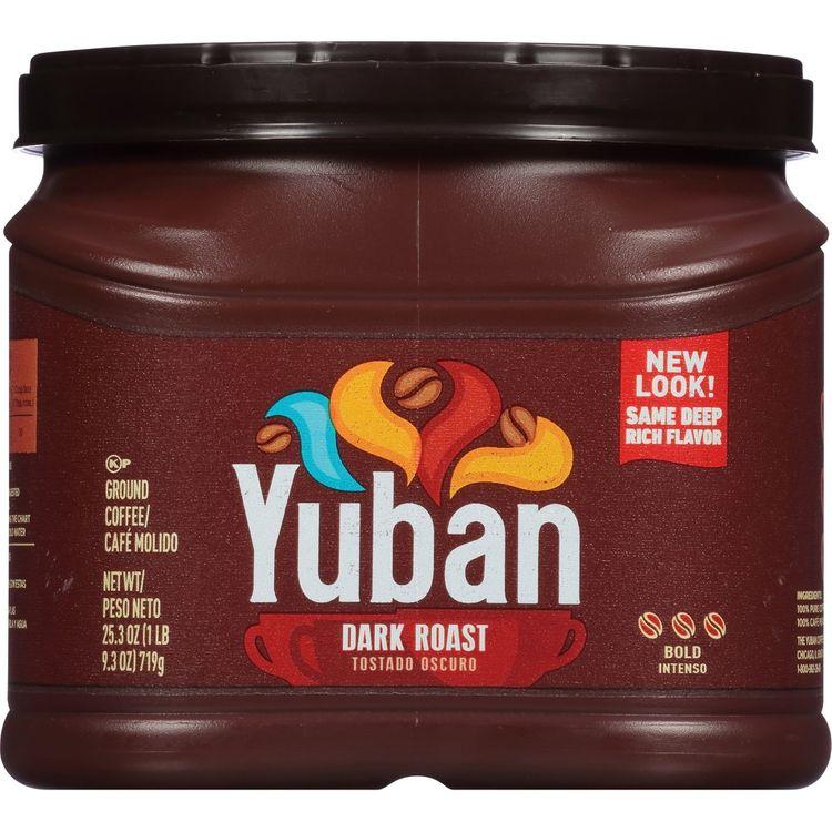 Yuban Dark Roast Ground Coffee, Caffeinated