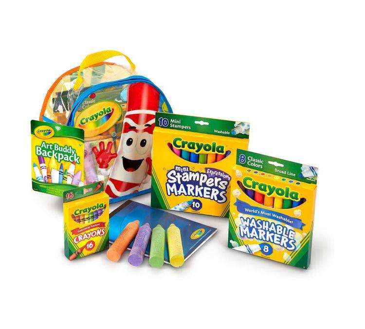 Slide: Crayola Art Buddy Pack