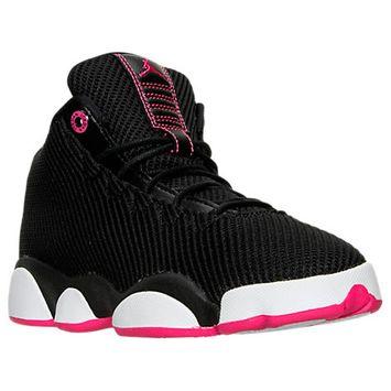 Nike Girls' Grade School Jordan Horizon Low (3.5y-9.5y) Basketball Shoes, Girl's, Black