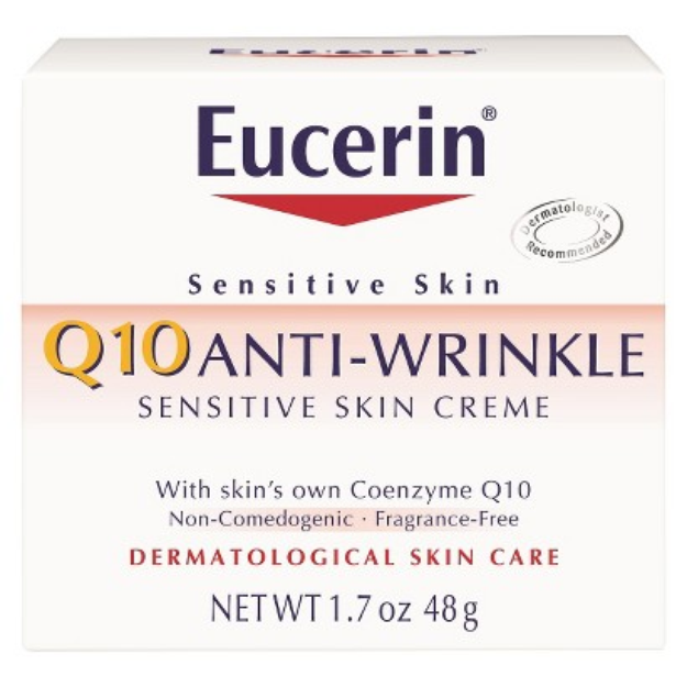Eucerin Q10 Anti-Wrinkle Sensitive Skin Crème - 1.7 oz