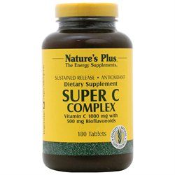 Nature's Plus - Super C Complex Antioxidant - 180 Vegetarian Capsules