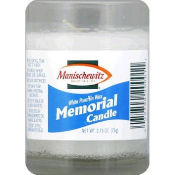 Manischewitz Candle Glass Memorial -Pack of 24