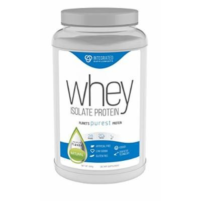 Integrated Supplements CFM Whey Protein Isolate Diet Supplement, Natural, 1.42 Pound