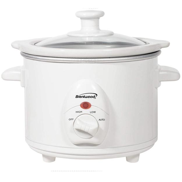 Brentwood Appliances SC-115W 1.5 Quart Slow Cooker