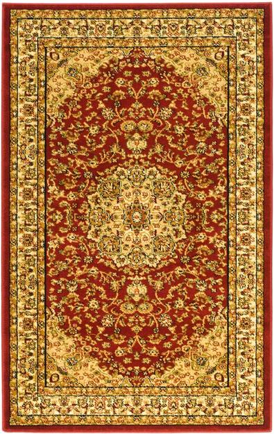 Safavieh Lyndhurst Red/ Ivory Rug (4' x 6')
