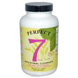 Agape Perfect 7 Agape Health Products Perfect 7 Intestinal Cleanser - 500 mg - 400 Capsules