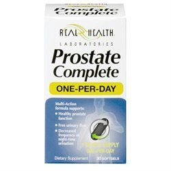 Prostate Complete, One Per Day Formula, 30 Softgels, Real Health Laboratories