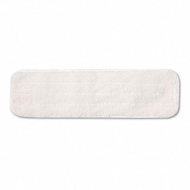 "Rubbermaid Dry Room Pad, Microfiber, 18"" Long, White"