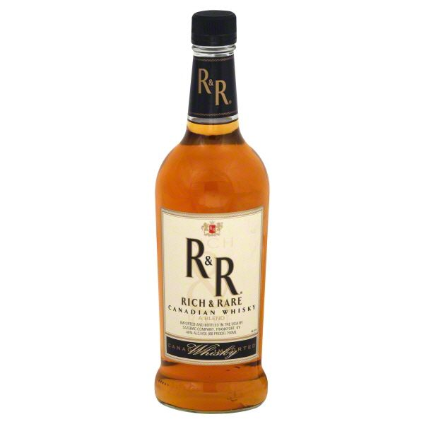 Rich & Rare Canadian Whisky