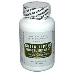 Amino Acid Botanical Green Lipped Mussel 60 Cap by Amino Acid & Botanical Supply