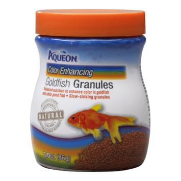 AqueonA Goldfish Color Enhancing Granules Fish Food