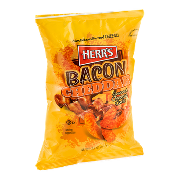 Herr's® Oven Baked Cheese Curls Bacon Cheddar