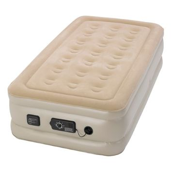 Serta Raised Air Bed with Never Flat Pump