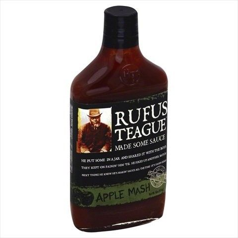 Rufus Teague 16 oz. Bbq Apple Mash Sauce Case Of 6