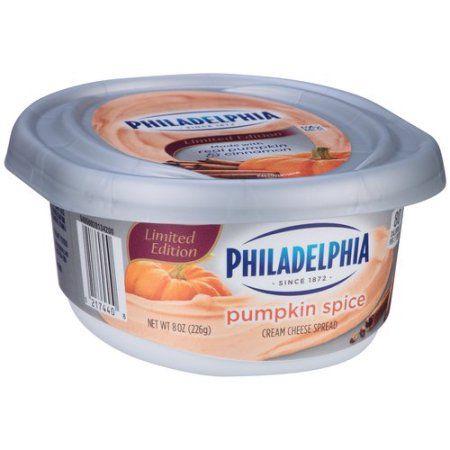 Philadelphia Limited Edition Pumpkin Spice Cream Cheese