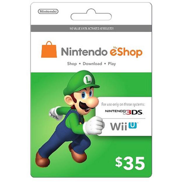 inComm Nintendo eShop Luigi $35