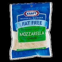 Kraft Mozzarella Cheese Shredded Fat Free