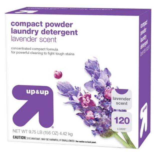 up & up Lavender Scent Powder Laundry Detergent 156 oz