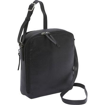 Derek Alexander Two Top Zip Camera Bag - Black