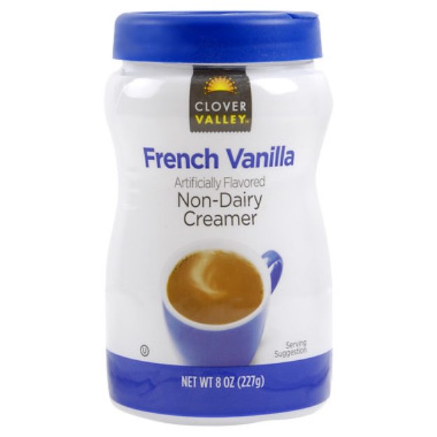 Clover Valley French Vanilla Non-Dairy Creamer
