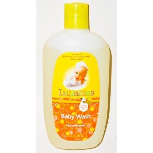 Lullabies Hypoallergenic Baby Wash, 15 Oz