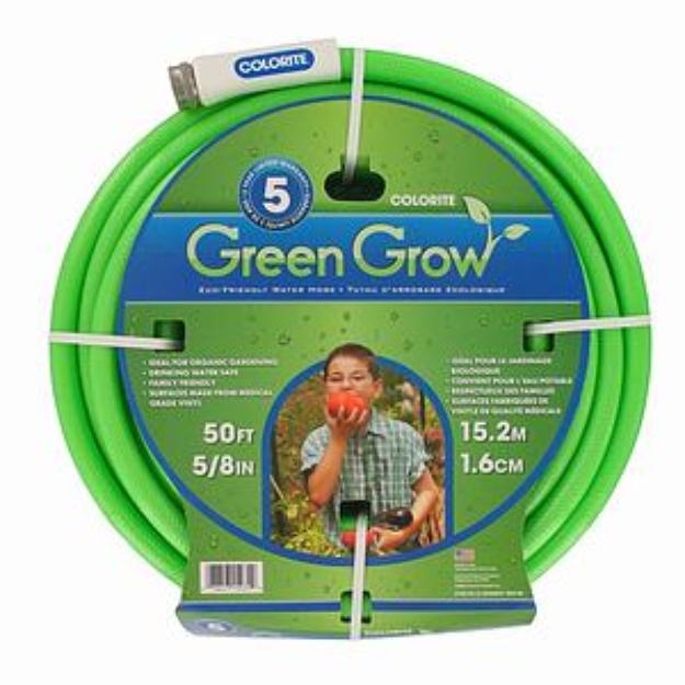 "Colorite/swan 5/8"" X 50' Green Grow Eco Friendly Water Hose CL1507050CFZ"