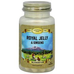 Premier One Royal Jelly Ginseng - 60 Capsules - Bee Products
