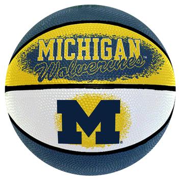 Spalding Michigan Wolverines Mini Basketball