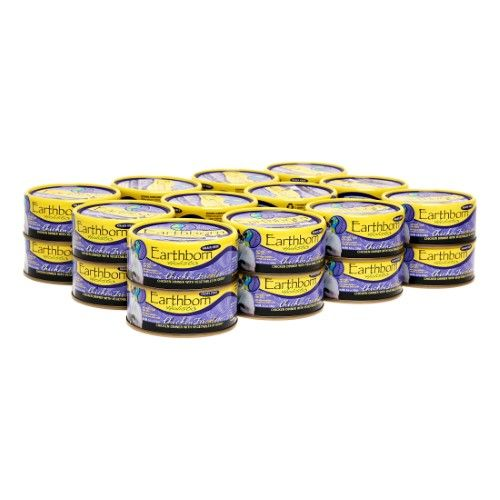 Earthborn Holistic Grain Free Chicken Fricatssee Canned Cat Food