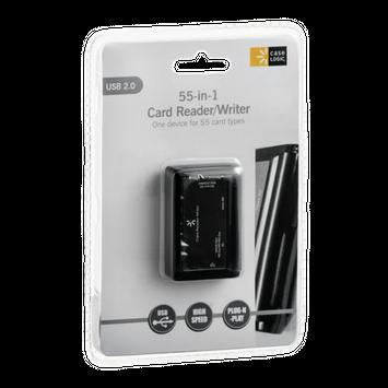 Case Logic 55-in-1 USB 2.0 Card Reader/Writer