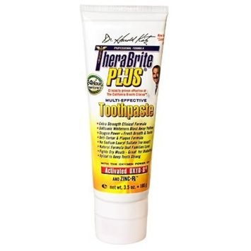 Dr. Harold Katz Thera Brite Plus Toothpaste, Mild Cinnamon flavor - 3.5 Oz
