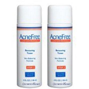 Ancefree Acnefree Renewing Toner 8 Oz (2 X 4 Oz = 8 Oz)!