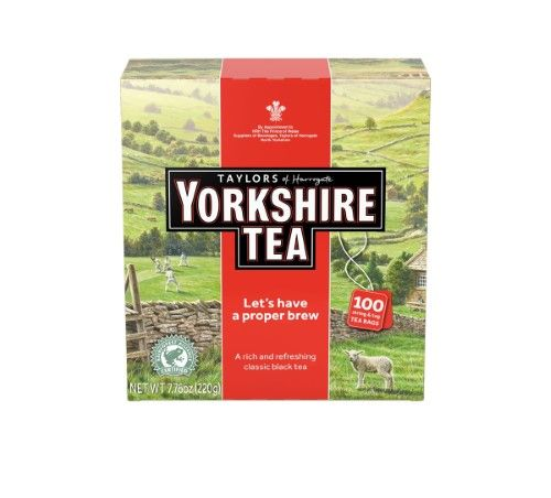 Taylors Of Harrogate TEA, YORKSHIRE RED, (Pack of 4)
