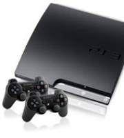 PlayStation 3 Refurbished 160GB SLIM with 2 Controllers