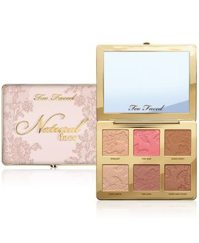 Too Faced Natural Face Highlight Blush and Bronzing Veil Face Palette